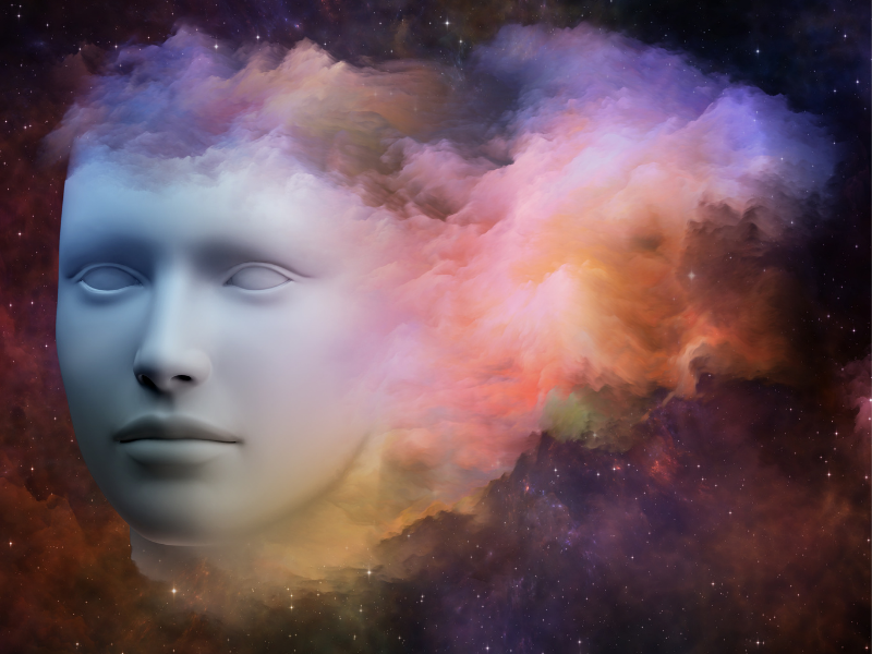 Face in the cosmos
